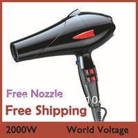 Wholesale Professional Hair Dryer AC Motor Ionic hand dryer travel dryer