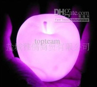 Wholesale Color Changing LED Xmas Mood Lamp Apple Night Lamp Light Valentine s day for Christmas Xmas lover