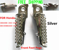 Wholesale Foot Pegs Front for Honda CBR RR RR Silver