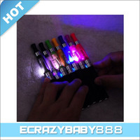 Wholesale New Colorful LED CE4 ml Atomizer with LED Light for EGO CE4S EGO Electronic Cigarette E Cigarette