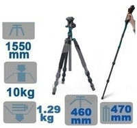 Lightweight  Tripods beike carbon tripod - Beike BK Tripod Monopod mm KG with Quick Release Plate Ball Head Bag PK042