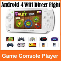 Wholesale JXD S602 GB Portable Android Gravity Game Console Player inch Touch Game Tablet PC Wifi Dir