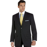 Wholesale Classic Gray Groom Tuxedos Men s Formal Daily Ceremony Business Suits Bridegroom Tuxedos MS215