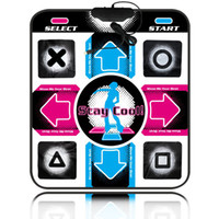 pc usb dance mat - Non Slip Dancing Step Dance Mat Pads blanket to PC with USB Dance mat