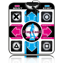 Wholesale Non Slip Dancing Step Dance Mat Pads blanket to PC with USB Dance mat