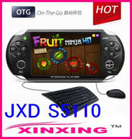 Wholesale 10 Brand JXD S5110 Game Tablet PC Android Tablet PC Capacitive Pad GB Free s