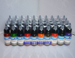 Wholesale Professional tattoo ink colors OZ high quality tattoo kits hot sale