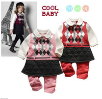 baby running clothes - Autumn spring Baby clothing kids clothes Long sleeve pink run form girls romper Year baby rompers