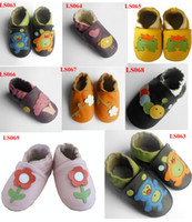 Unisex baby leather shoes - Soft Sole Baby Leather Shoes Infant Toddler leather Walking shoes Prewalker Shoes