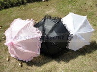 Wholesale The Fairy Lace Parasol Sun Umbrella for Princess and Flower Girl for Wedding High Quality New