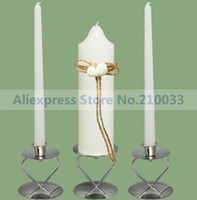 Wholesale Beach Theme Unity Candle Set With Shell for Wedding Decoration Party Favors Gifts Articles Supplies