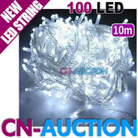 Wholesale White m LED String Light Holiday Decoration Fairy Lights LED Christmas Lights Lamp CN LSL4