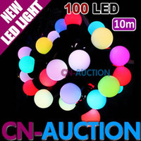 Wholesale 10m LED Ball Light String Colorful Fairy Lights Christmas Lights LED Decoration Lamp CN LSL19