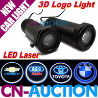Wholesale First Gen W LED Car Door D Logo Light Ghost Shadow Light Welcome Light for All Cars CN LCL113