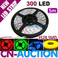 Wholesale 5m CM Waterproof SMD LED Strip Flexible Light Strip Lamp DC12V Colors Option
