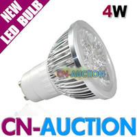 Wholesale 4W GU10 E27 LED Spotlight High Power LED Bulb Energy Saving LED Lighting AC110V V CN LLB28