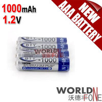 Wholesale FS BTY AAA Battery pack mAh Ni MH V Rechargeable Battery WF RB01