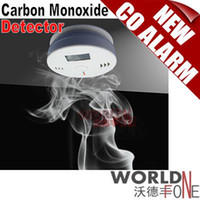 Wholesale Home Safety Products LCD Display Wireless Alerter CO Carbon Monoxide Alarm CO Gas Detector WF COA03