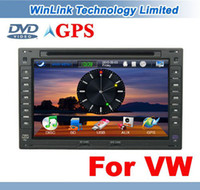 Wholesale Special quot In Dash Stereo Car DVD GPS For VW GOLF POLO PASSAT JETTA PEUGEOT