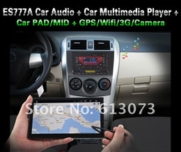 Wholesale GPS WiFi G Tablet PAD Car multimedia PC DVD Din ES777A Android GHz CPU M RAM