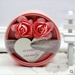 Wholesale 2013 Beautiful Wedding Favours Candy Box Wedding Favor Boxes Gift Candy Box FFF