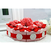 Favor Boxes Paper other New Style Beautiful Wedding Favours Candy Box Wedding Favor Boxes Gift Candy Box 50Pcs Lot FFF 80