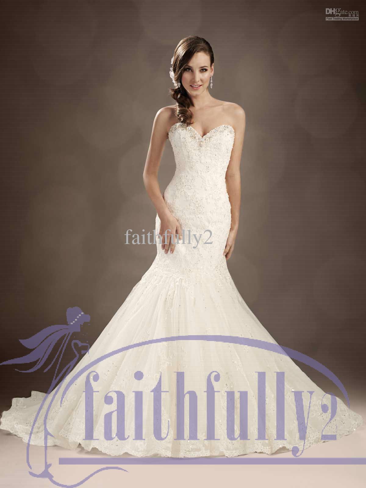 Winter mermaid wedding dresses sweetheart beaded neckline for Winter mermaid wedding dresses
