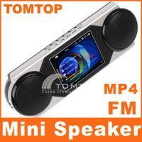 Wholesale Micro SD TF USB Mini Stereo MP3 Speaker quot MP4 Video Player FM Radio Record Dropshippi