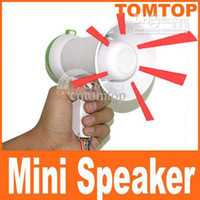 Wholesale Mini Handheld Amplifier Megaphone Bullhorn Loud Speaker freeshipping dropshipping H87