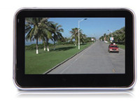 Wholesale 4 Inch GPS Navigator MTK MHz Free Maps FM MP3 MP4 Player DHL FREE
