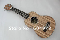 Wholesale NEW Homeland brand laminated Zebra wood concert best sound Ukulele Size