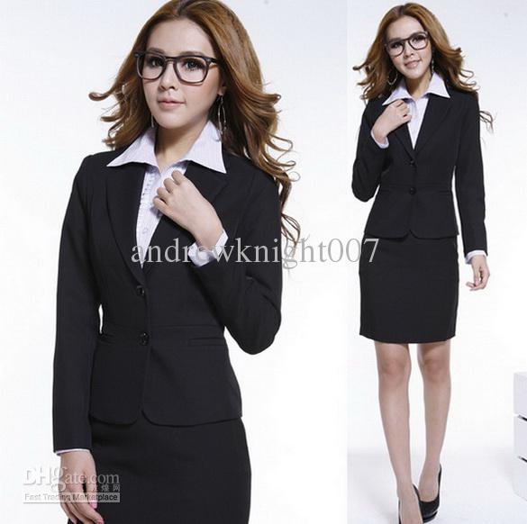Cheap Black Business Suit For Women | Free Shipping Black Business