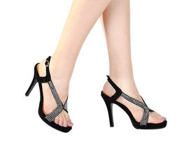 Wholesale Manual sandals sexy waterproof table fish mouth shoes wedding shoe heels female sandals