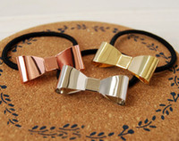 Cheap Hair Rubber Bands bowknot Best multi Middle Eastern hair clip