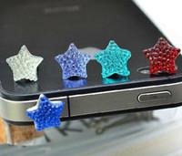 Wholesale popular earphone Cap Earphone dust plug for iphone and mm plug mobile phones
