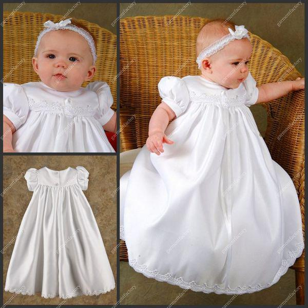 Latest First Communion Dresses Jewel Neckline Short Puffy Sleeve ...