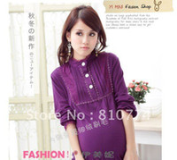 Wholesale Maternity render unlined upper garment pregnant women clothing han edition pregnant women coat