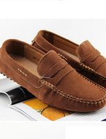 Wholesale X81148 Mens Casual Shoes Driving Moccasins Slip On Flat Penny Loafers Warm Shoes
