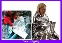 Wholesale Emergency Survival Space Rescue Thermal Blanket cm