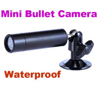 Wholesale Mini Bullet TVL Outdoor Waterproof Security CCTV mm Lens Colour Camera Black