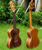 Wholesale Hanknn Ukulele Top Grade Acacia Concert Body with Aquila String Free Bag