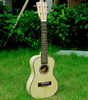 Wholesale Hanknn Ukulele Top Grade All Solid Bamboo Body Concert Ukulele Aqulia String