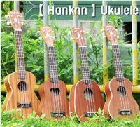 Wholesale Hanknn Ukulele Soprano Pineapple Concert Ukulele as Stock Video Demo on Web