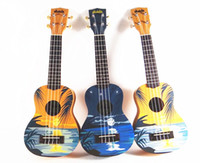 Wholesale Christmas Ukulele Sunrise Style Sunset Style Soprano Ukulele with Free Bag