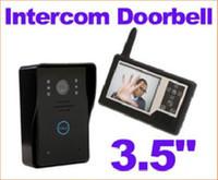 Wholesale 3 quot TFT Color Display Wireless Video Doorbell Door Phone Intercom System