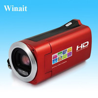 Wholesale HD P Digital video camera with MP quot CMOS Sensor quot LCD x digital zoom SD32GB USB2 and Li