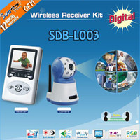 Wholesale SunEyes GHZ Wireless Digital Baby Monitor with inch LCD and two way speaker SDB L003