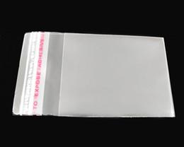 1000pcs Clear Self Adhesive Seal Plastic Bags 6x4cm