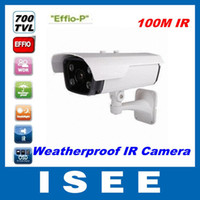 Guangdong China (Mainland) Infrared Waterproof / Weatherproof HD 100M Long Range 700TVL Sony EFFIO-P CCD CCTV IR Array Security Camera Outdoor Weatherproof vari-f