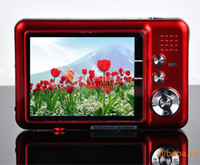 Wholesale NEW MP quot TFT LCD DIGITAL CAMERA x digital zoom Anti shake rechargeable lithium battery c